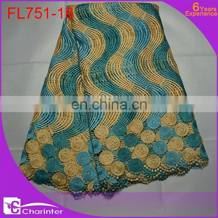 free shipping african cord lace cheap lace fabric crocheted lace