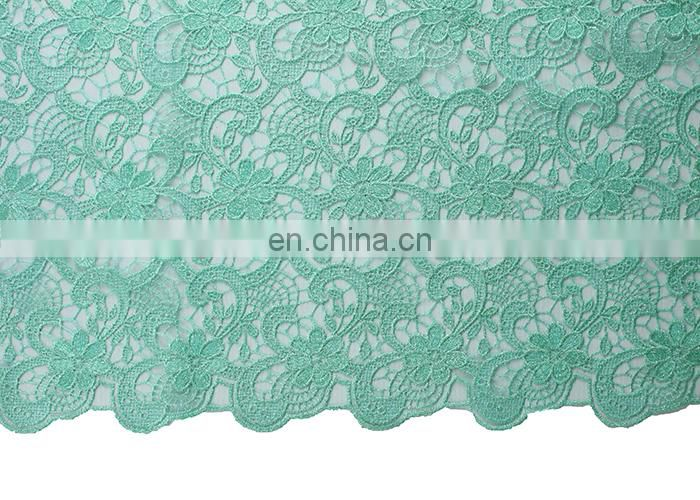 2015 high quality big cord lace fix bead guipure lace