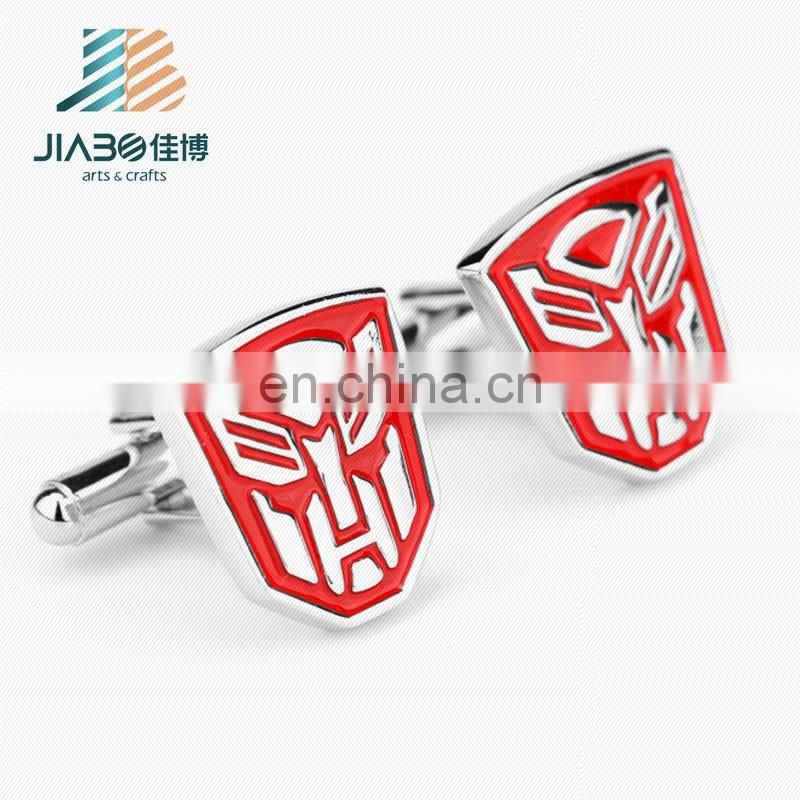 New custom fashion metal superhero exquisite cufflinks for men