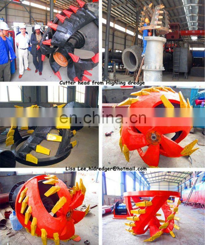 300CBM/h Sand Suction Boat Dredger