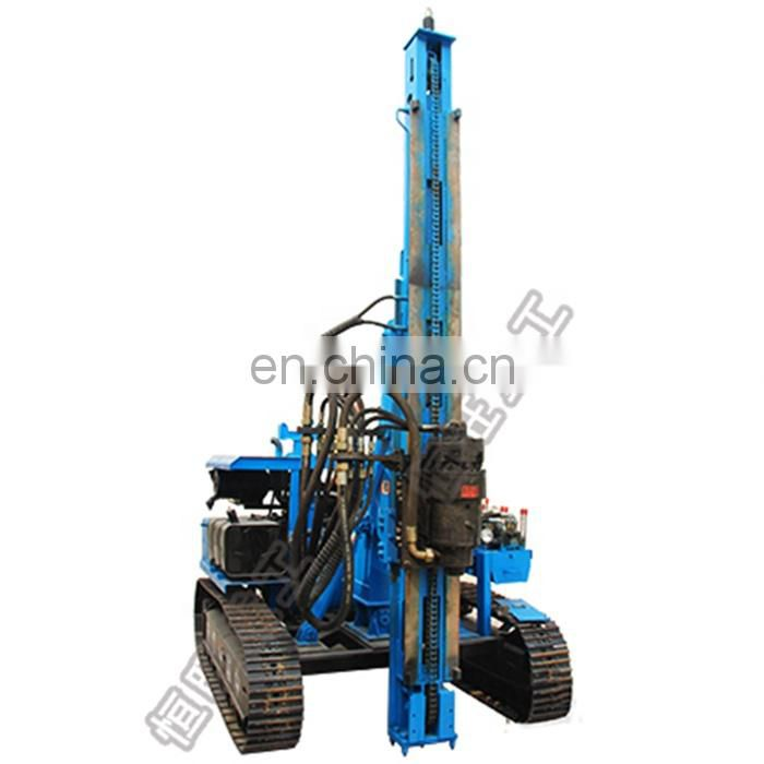 Hydraulic static pile driver driving machine price Image