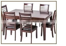 Dining room furniture with dining table and chairs of new design