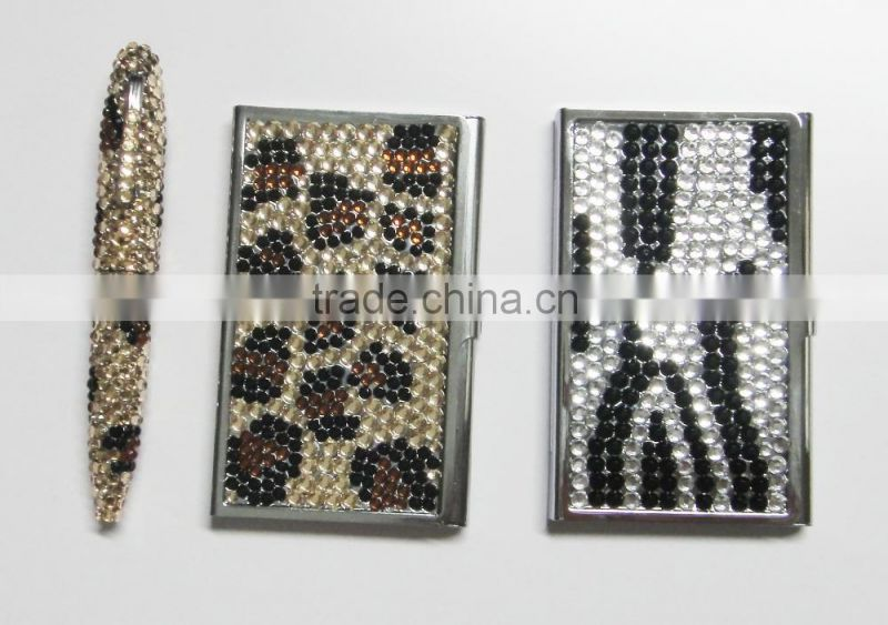 Diamond business card id card holder shinning gradient rhinestone diamond business card id card holder shinning gradient rhinestone business card case colourmoves