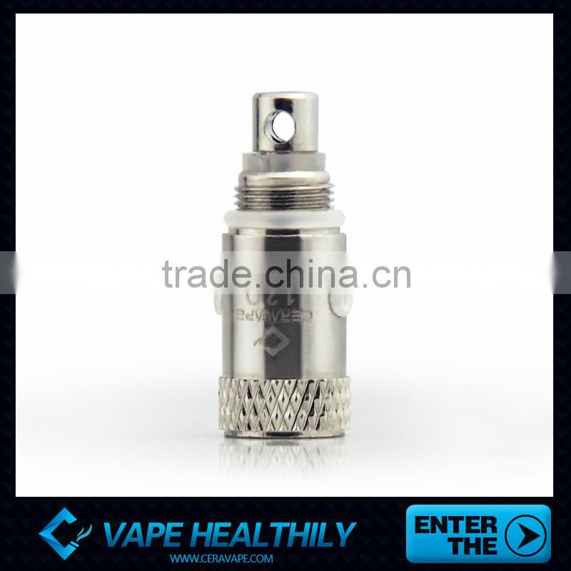 Promotion price e-cig 510 thread atomizer ceramic rod clearomizer high quality no leaking ecig
