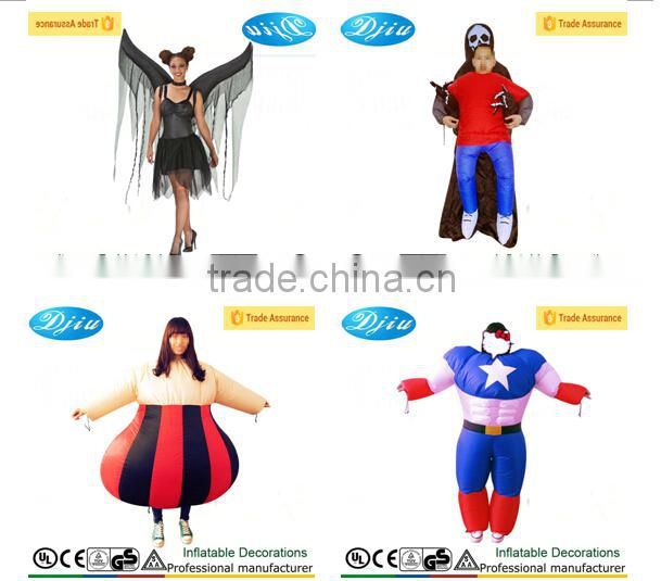 Superman Returns Costume Electronic Inflatable Muscle Inflato-Suit Halloween