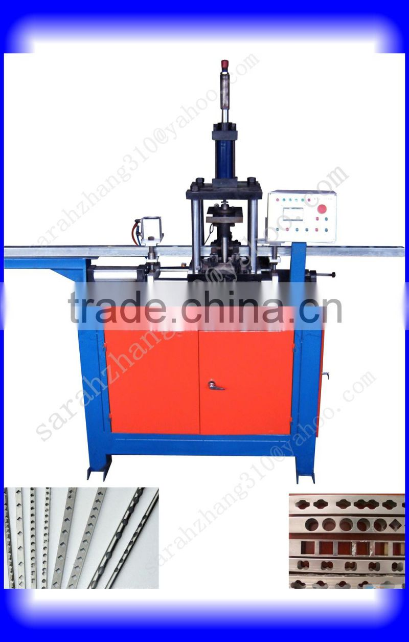 hot sale hydraulic steel punching machine for round and