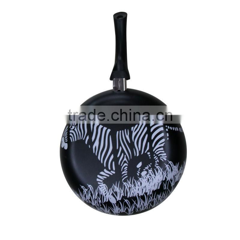 ceramic coating skillet no stick frypan sauce pan non-stick frying pan