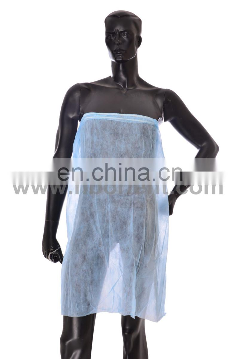 Disposable nonwoven beauty skirts