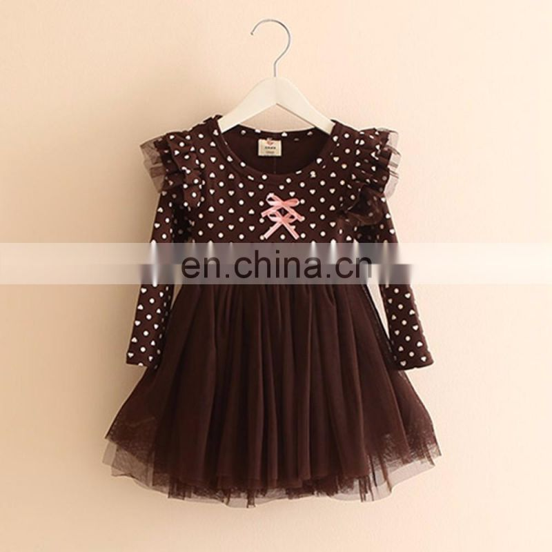 Brown Dress With Butterfly Wings for kids