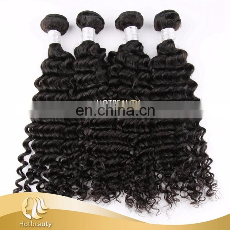 Raw Unprocessed Peruvian Hair Virgin hair Double drawn weft