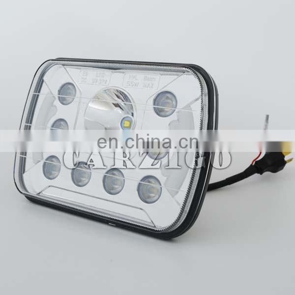 "China manufacturer 12v 55watt 5*7"" led headlight for truck heavy duty"
