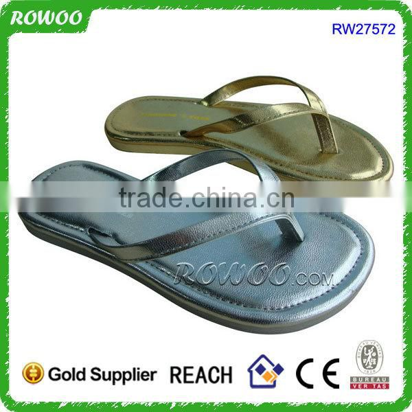 cheap lady massage slipper with flowers