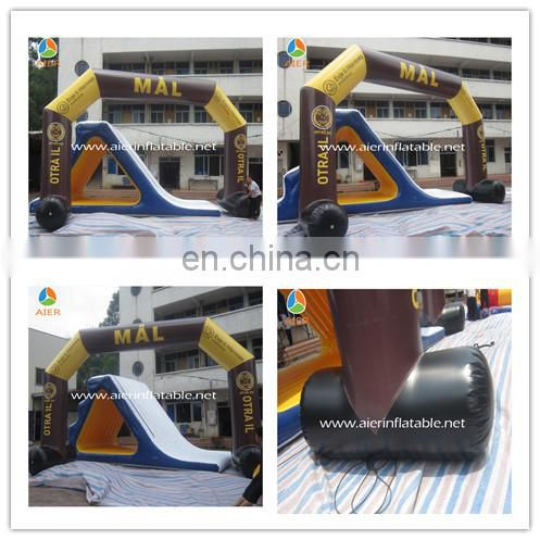 Inflatable rainbow arch, inflatable advertising arch, striking advertising inflatable arch
