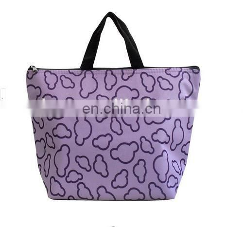 oxford travel and shoulder lunch tote bag