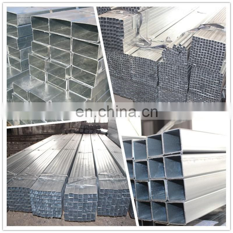 hot-dip galvanized iron new products carbon steel square and rectangular pipe manufacturer