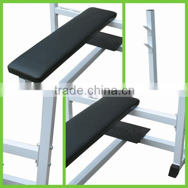 Miraculous Hot Sale Flat Olympic Weight Bench Exercise Bench As Seen On Short Links Chair Design For Home Short Linksinfo