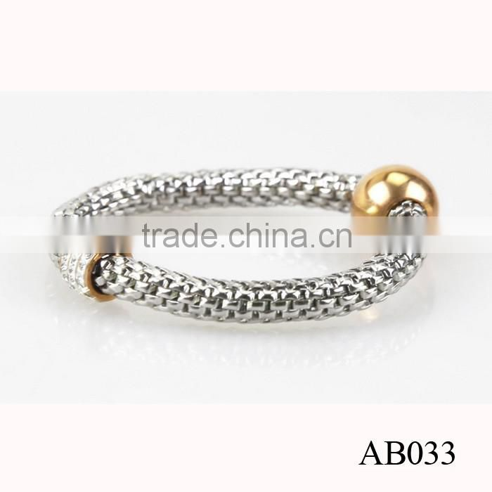Stainless Steel Men Bead Bracelet Gold Jewelry On China Wholesale