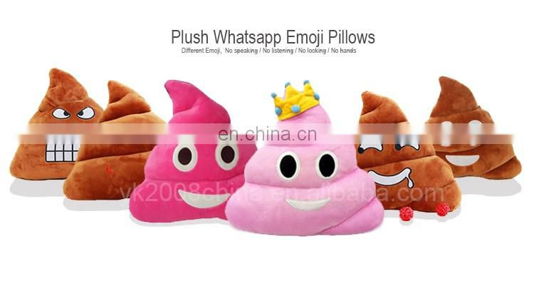 plush whatsapp emoji pillow