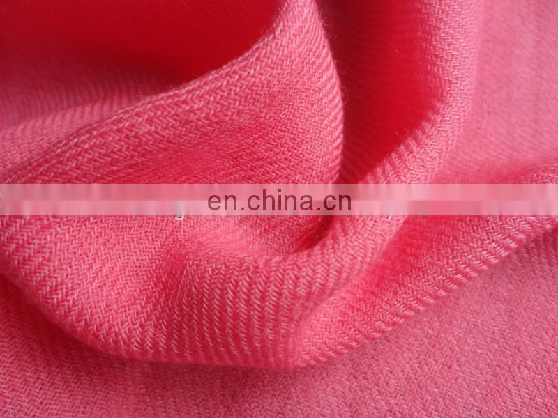 100S*60S twill worsted scarf wool silk fabric