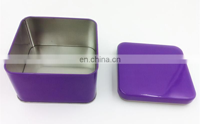 Wholesale Small Square Watch Tin Box