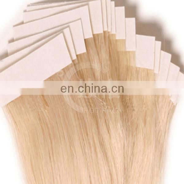 New arrival 2014 grade virgin weaving 100% human tape russian hair extensions