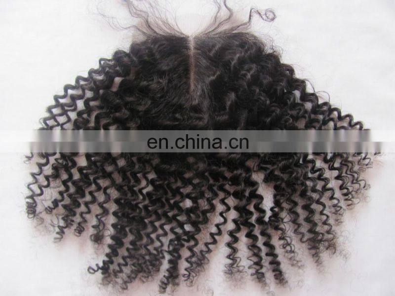 Top 6A+ Top Closure Wholesale Price Brazilian Curly Closure