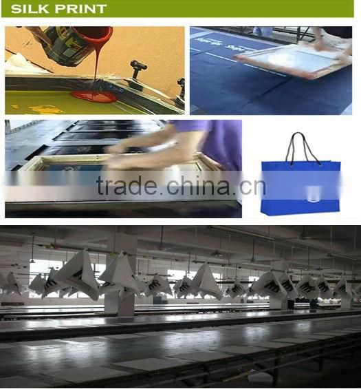 Laminated PP Non Woven Reusable Shopping Bags