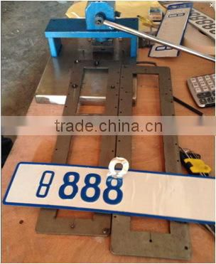 Hot selling number mould using in Manual press machine