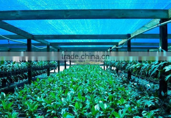 Hdpe dark green sun shade netting for agricultural