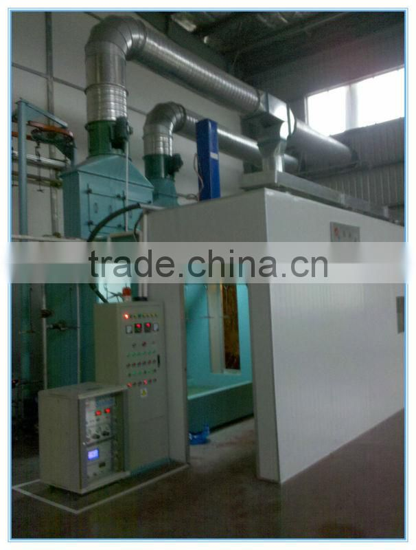 electrostatic sprayer metal coating machinery