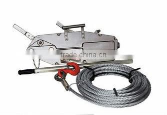 wholesale aluminium body wire rope hoist CE certificated