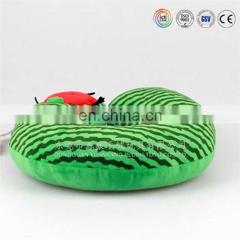 ICTI audited factory lovely green onion plush pillow factory in china