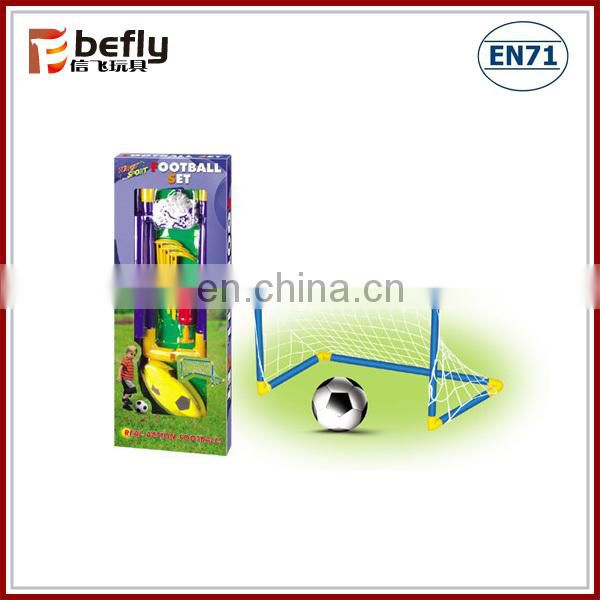 Funny soccer ball toy with goal
