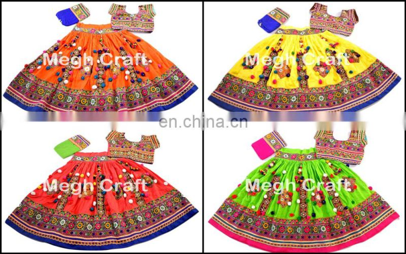 Sanedo Navratri Chaniya Choli - Traditional Garba Chaniya Choli - Banjara patchwork lehenga choli