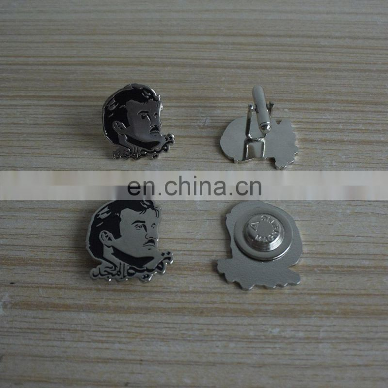 Custom the QATAR chief head shape and hotsale promotional cufflinks with high popularity