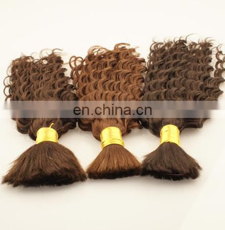 Direct factory wholesale color bulk hair human hair high quality