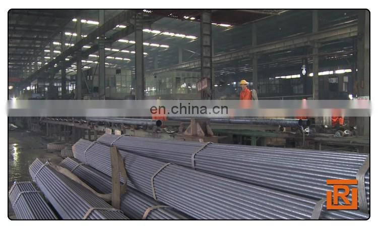 Black carbon straight seam welded steel piping, steel tube 32mm