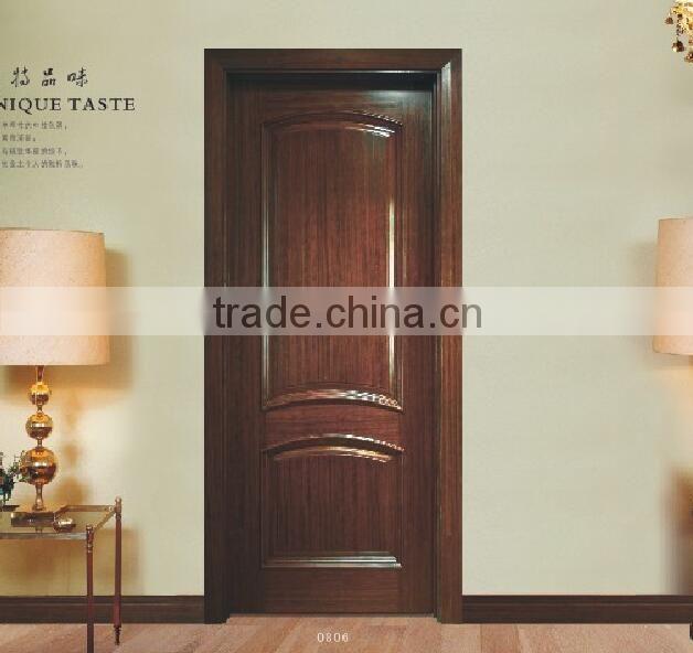 Swing Open Style Interior Solid Wood Door Design Wood Door Making