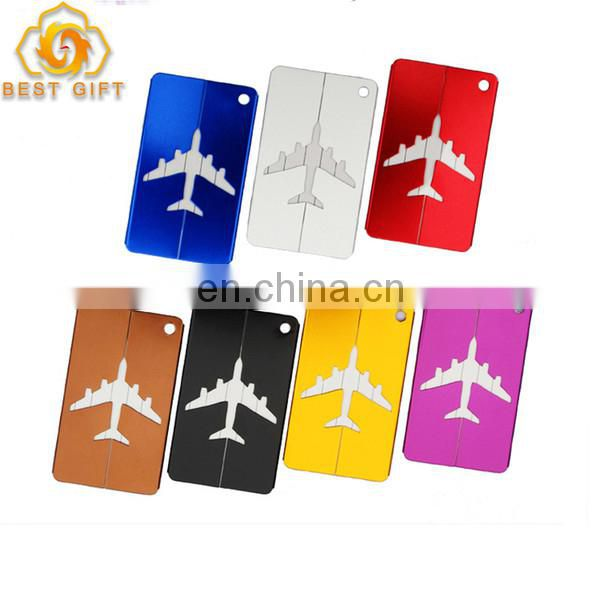 Guangdong Manufacturer Low Price Custom Metal Aluminum Luggage Tags