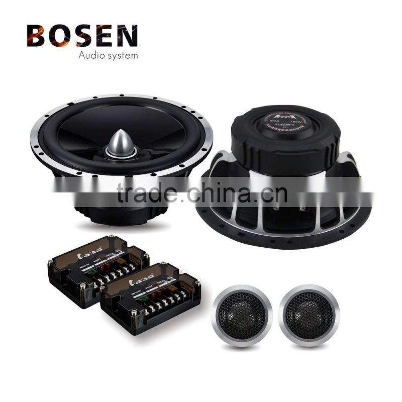 Auto 6.5 inch 2-way component car speakers