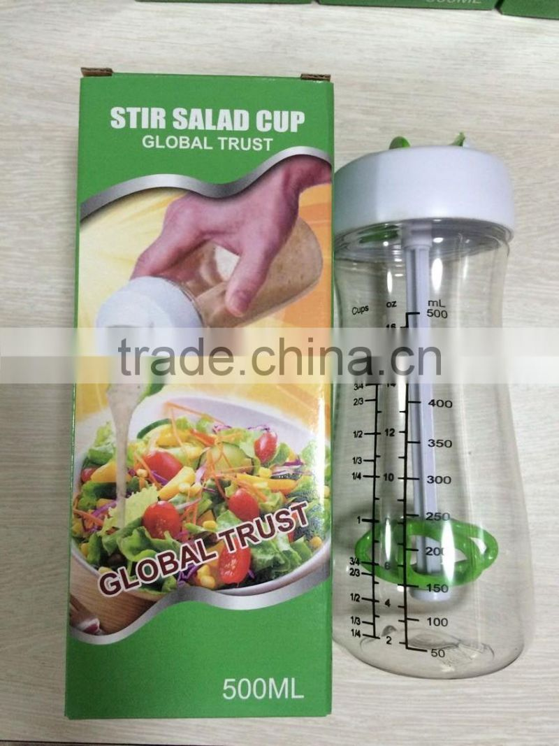 Wholesale FDA standard plastic salad tools salad dressing mixer