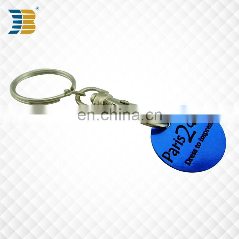 fashionable custom small round plastic buckle
