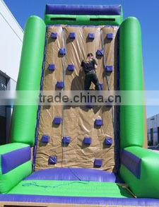 2014 new commercial rock inflatable climbing wall,hot sale inflatable climbing game,inflatable rock climbings