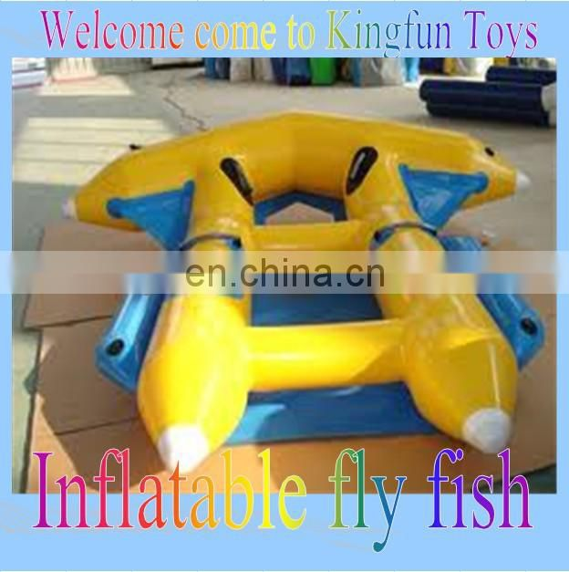 6Person inflatable water fly fish/ flying fish for sale
