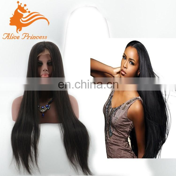 Fashionable Top Grade Wholesale Avaliable Remy Virgin Jewish European Human Hair Wigs