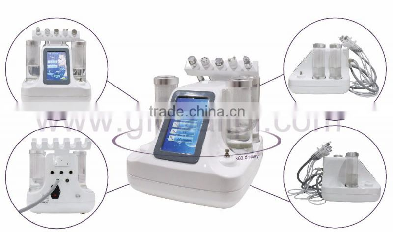 New fashion style deep cleaning oxygen jet peel spots removal oxygen facial machine