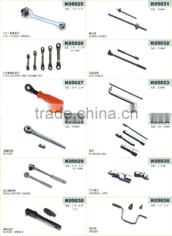high quality adjustable spanner wrench y type or t type