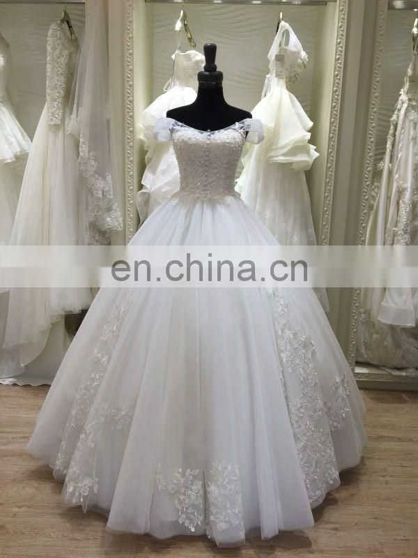 thailand heavy beading beach casual wedding dresses 2016