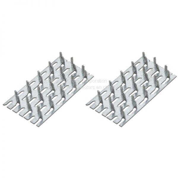Multi-purpose galvanized plate for timber connectors Image