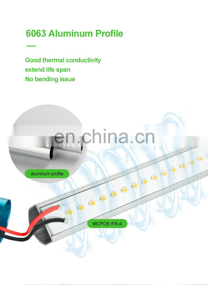 "High Efficiency LED tube 5 year warranty 4"" led tube Energy Efficient LED Lighting 4"" T5 LED Tube"